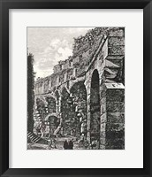 Framed Views Of Rome (Portrait) B&W