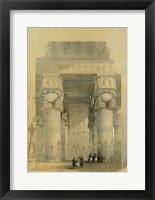 Framed Egypt - Temple Of Dendra