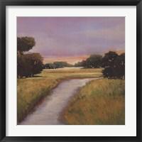 Framed Golden Marsh