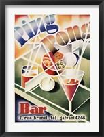 Framed Ping Pong Bar