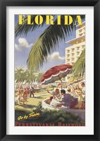 Framed Florida Go by Train