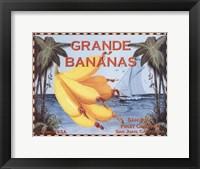 Framed Grande Bananas