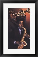 Jazz City 1 Framed Print