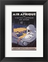 Framed Air Afrique