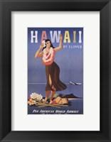 Framed Hawaii by Clipper