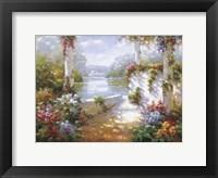 Framed Lakeside Pergola