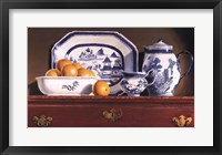 Framed Tea & Oranges