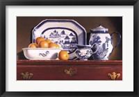 Framed Tea & Oranges