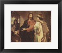 Framed Christ and the Rich Young Ruler
