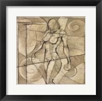 Framed Figurative Study I