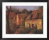 Framed French Farmhouse I