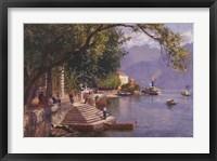 Framed Villa Carlotta, Lake Como