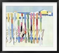 Framed Rainbow Beach, 1977
