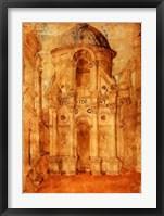 Framed Cityscape with the Tempio Malatestiano