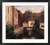Framed Chateu du Breau
