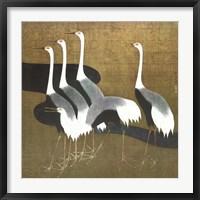Framed Cranes