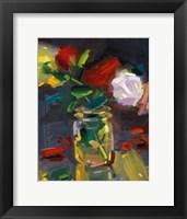 Framed Rose Jar