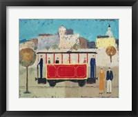 Framed Street Railway