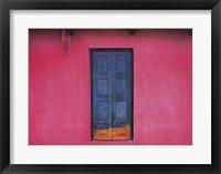 Framed Fachada Rosa, Teopisca, Mexico