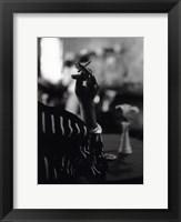 Framed Hattie's Cigarette, Images of Harlem
