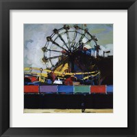 Boardwalk Colors Framed Print