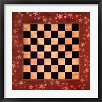 Framed Americana Checkers