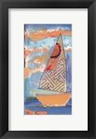 Framed Sail Away IV