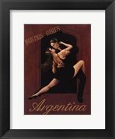 Framed Argentina