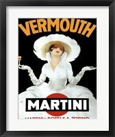 Martini Rossi & Torino Framed Print