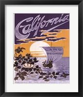 Framed California ad