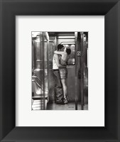 Framed Subway Kiss