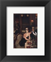 A Very Special Dinner Framed Print