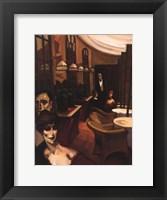 Terrace Rendevous Framed Print