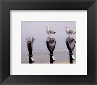 The Onlookers Framed Print
