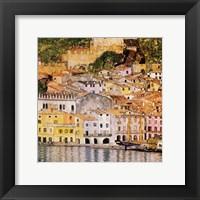 Framed Malcesine on Lake Garda, c.1913