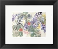 Framed Coquelicotis et Iris