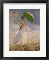 Framed Woman with Sunshade
