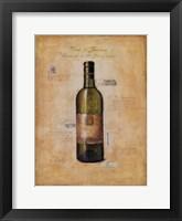 Framed Vino di Toscana