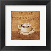 Cioccolata Framed Print