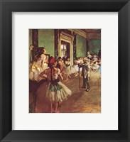 Framed Dancing Class