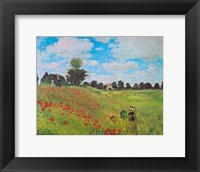 Corn Poppies Framed Print
