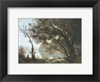 Souvenir de Mortefontaine Framed Print