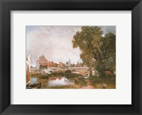 Mill at Dedham Framed Print