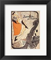 Jardin de Paris Framed Print