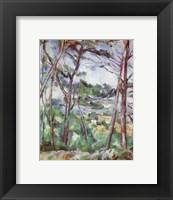 Framed Landscape Near Aix