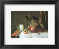 Framed Still Life with Silver Tankard