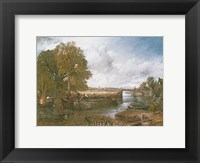 View on the Stour near Dedham Framed Print