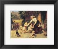 Dancing Bear Framed Print