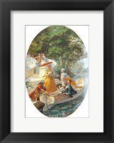 Boating Party Framed Print