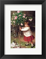 Framed Young Gardener